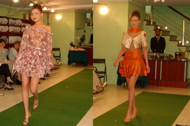 Haute Couture Fashion Show by Hanna Bienkowska - Shop Opening 2004