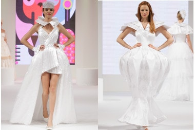 Haute Couture Fashion Show by Hanna Bienkowska - Londyn 2013